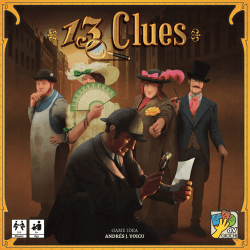13 Clues board game box cover