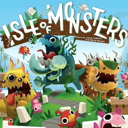 Isle of Monsters board game box cover